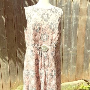 LOVELY BY ADRIANNA PAPELL DRESS